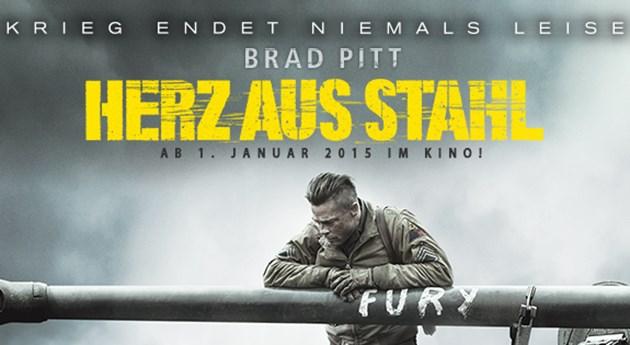 Brad-Pitt-Herz-aus-Stahl-Poster