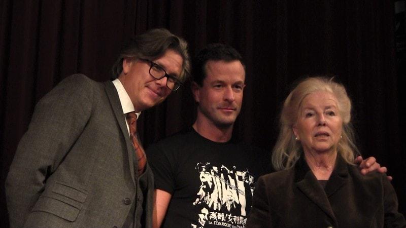 Percy Hoven, Uwe Huber und Joyce Hoven