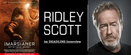RIDLEY SCOTT IM DEADLINE-INTERVIEW