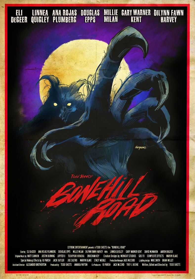 Bonehill Road Poster