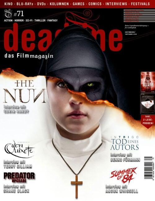 Deadline #71 cover