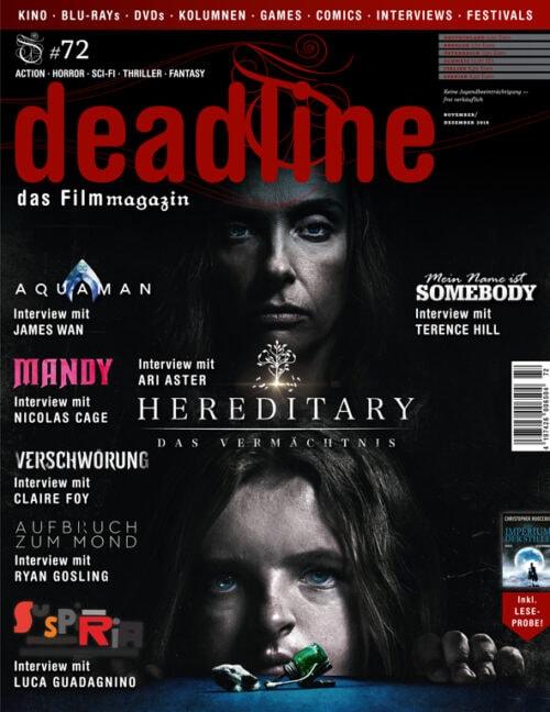 Deadline #72 Cover