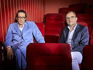 Skandal – Filme, die Geschichte schrieben – Oskar Roehler und Joachim Bessing (r.). Foto © Gert Krautbauer