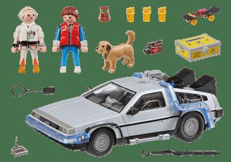 Back to the Future DeLorean_Content