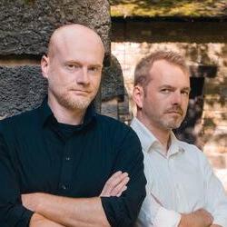 Tom und Stephan Orgel